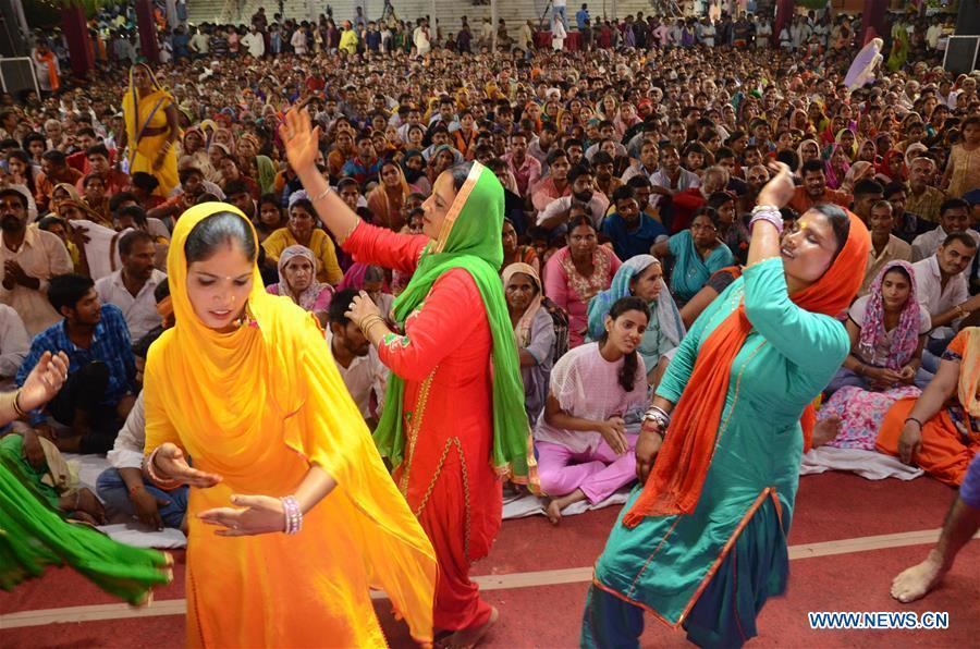 Janmashtami festival celebrated in Mathura, India
