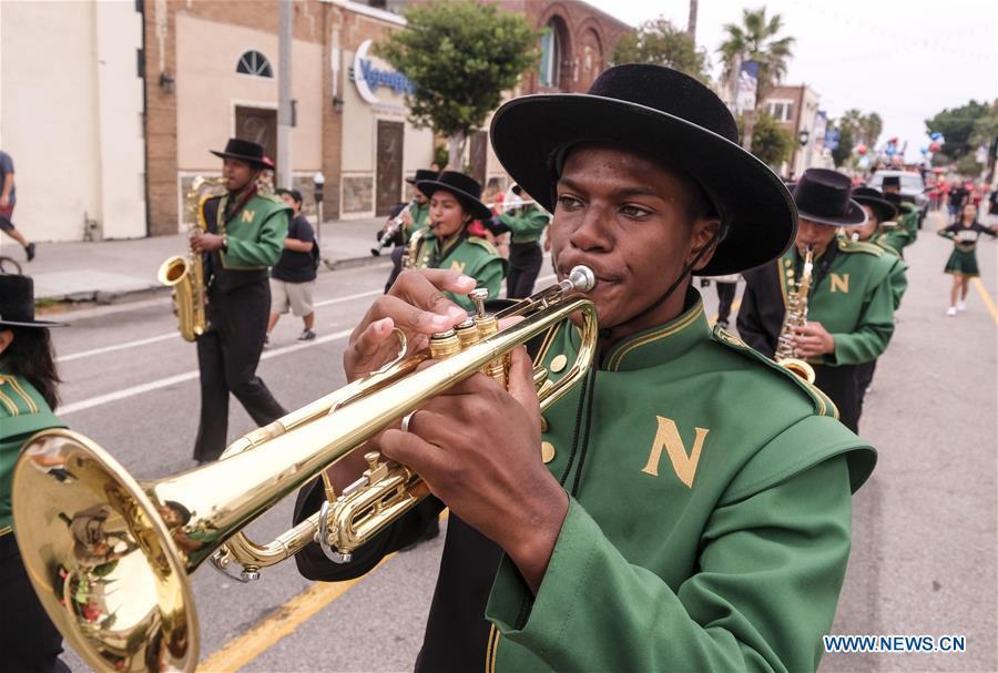 39th annual Labor Day Parade held in LA, U.S.
