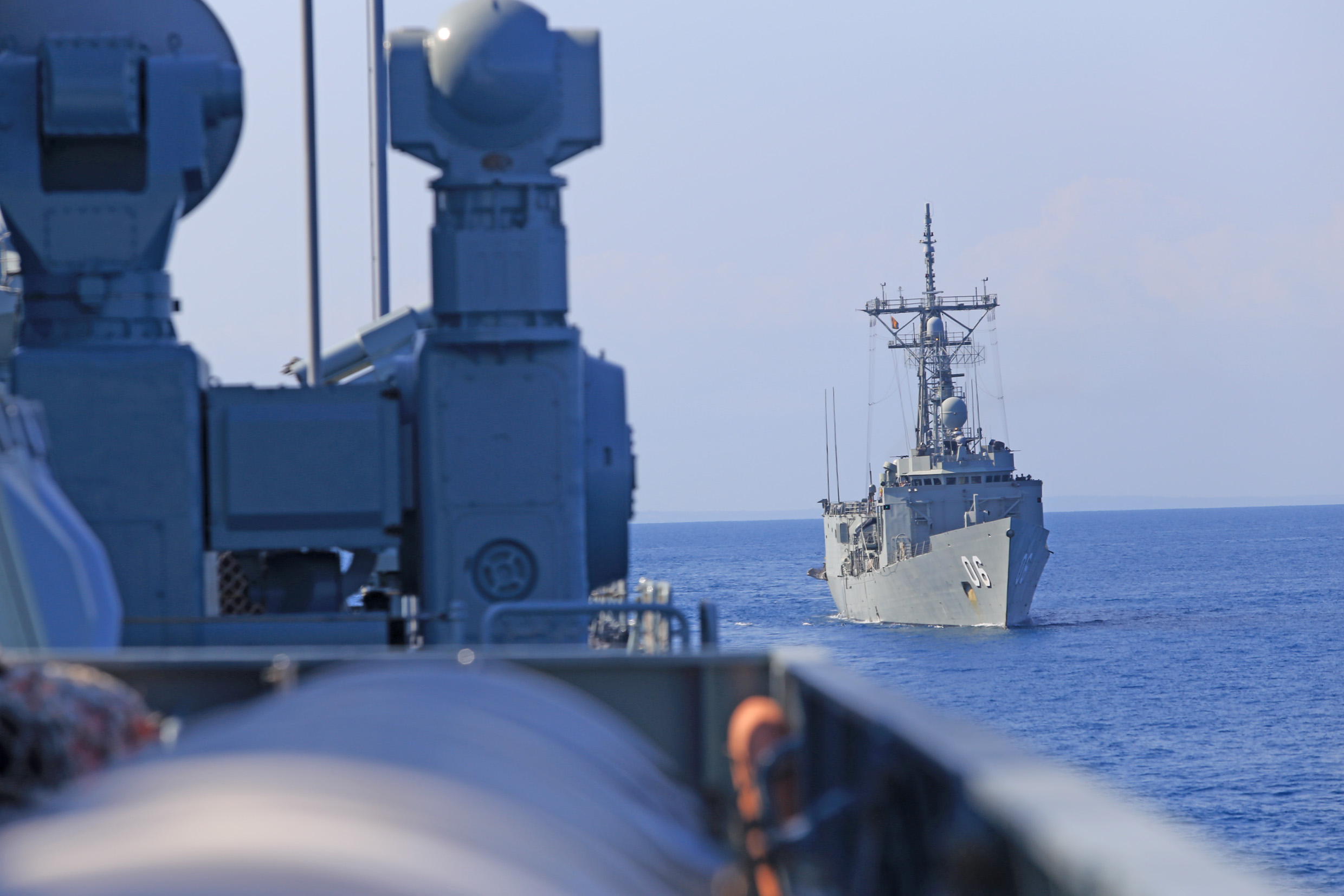 Chinese missile destroyer attends joint drill in Australia