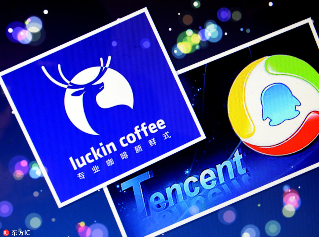 Tencent launch partnership with Chinese coffee start-up Luckin
