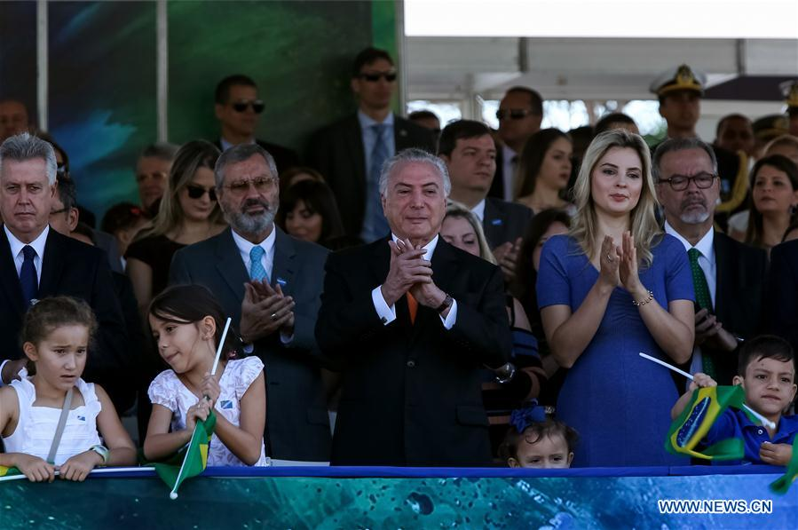 Brazil marks 196th anniv. of independence