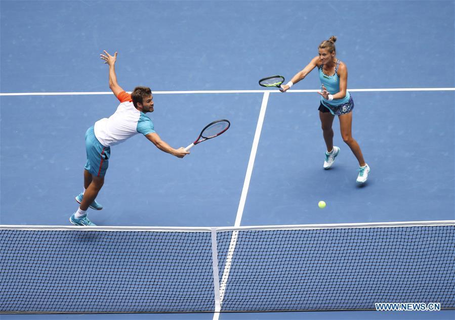 Mattek-Sands, Murray win U.S. Open mixed doubles title