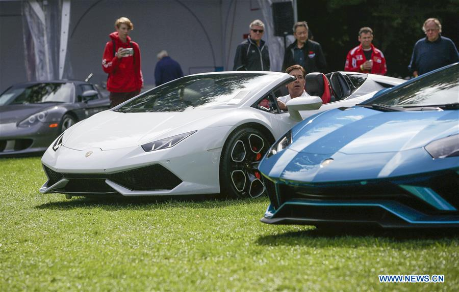 9th annual Luxury and Supercar weekend event held in Canada