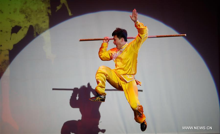 """""""China Day"""" Wushu show presented in US"""