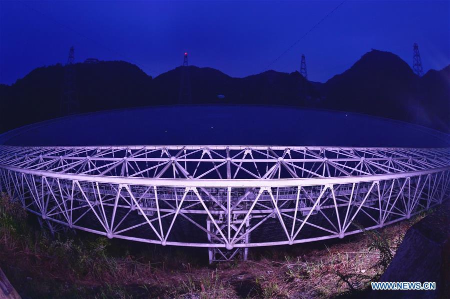 China's FAST telescope identifies 44 pulsars