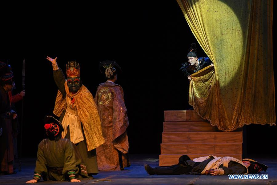 """Theater drama """"Synopsis of the Prince of Lanling"""" staged in Cairo"""