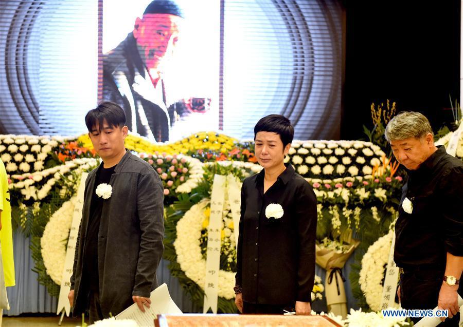 Farewell ceremony of performing artist Zhu Xu held in Beijing