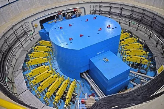 China's first spallation neutron source [Photo provided by Institute of High Energy Physics Chinese Academy of Sciences]