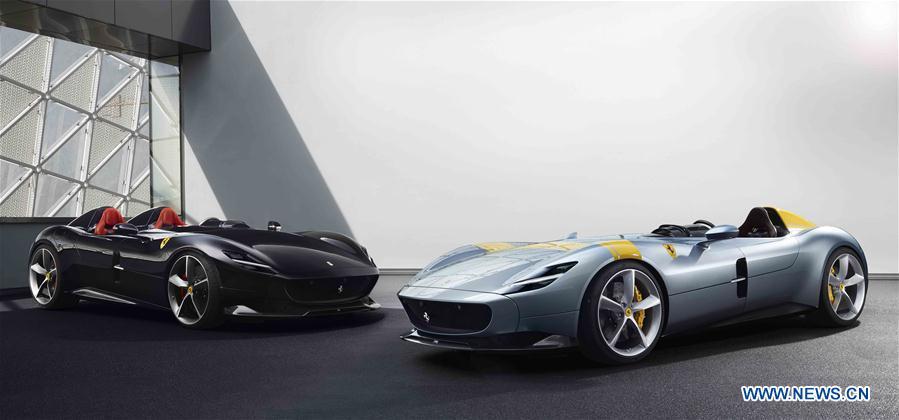 Italy's Ferrari launches new 'icon' models