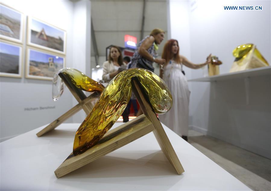 Over 1,600 artworks exhibited at Beirut Art Fair