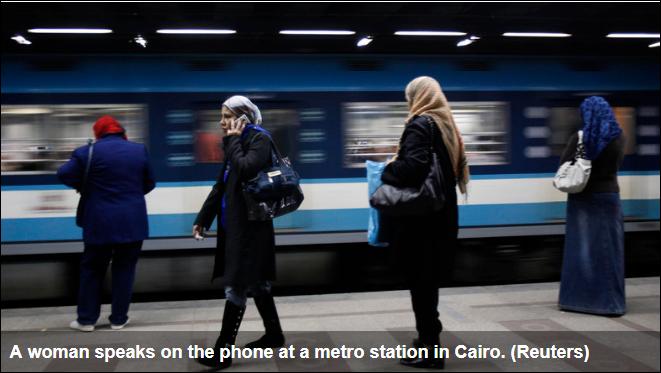 Rare display of public anger erupts as Cairo hikes metro fares
