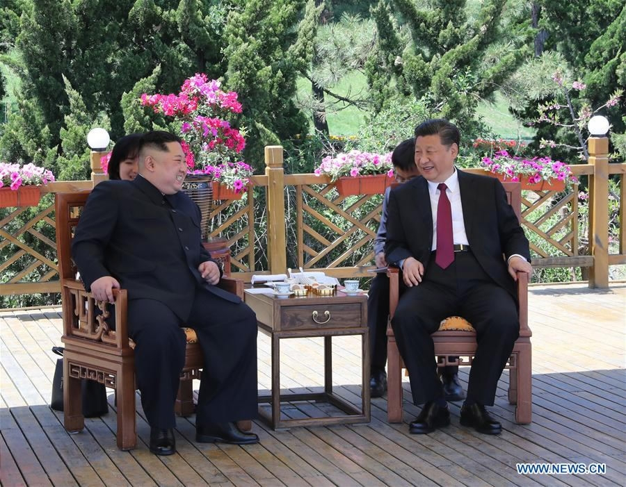 China calls for joint efforts and dialogue for peninsula peace