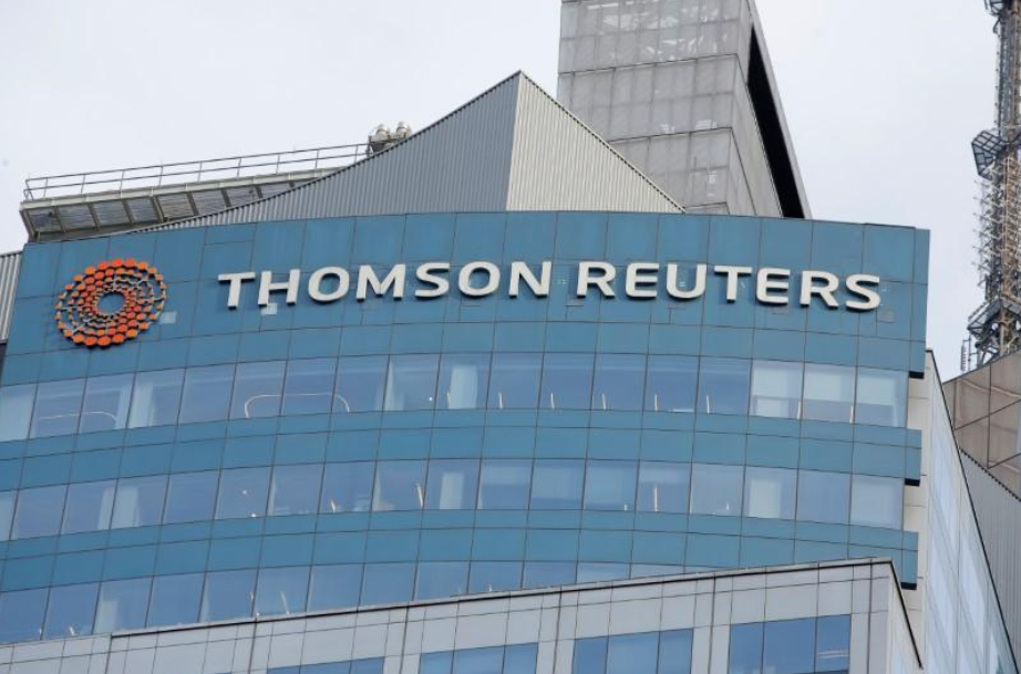 Thomson Reuters expects higher 2018 costs, shares drop