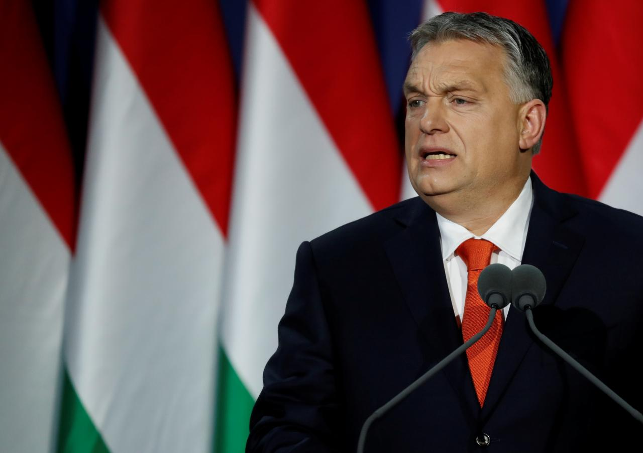 Hungary PM Orban sets out conservative vision at start of new four-year term