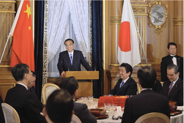 Chinese premier calls for bringing China-Japan ties back to the right track