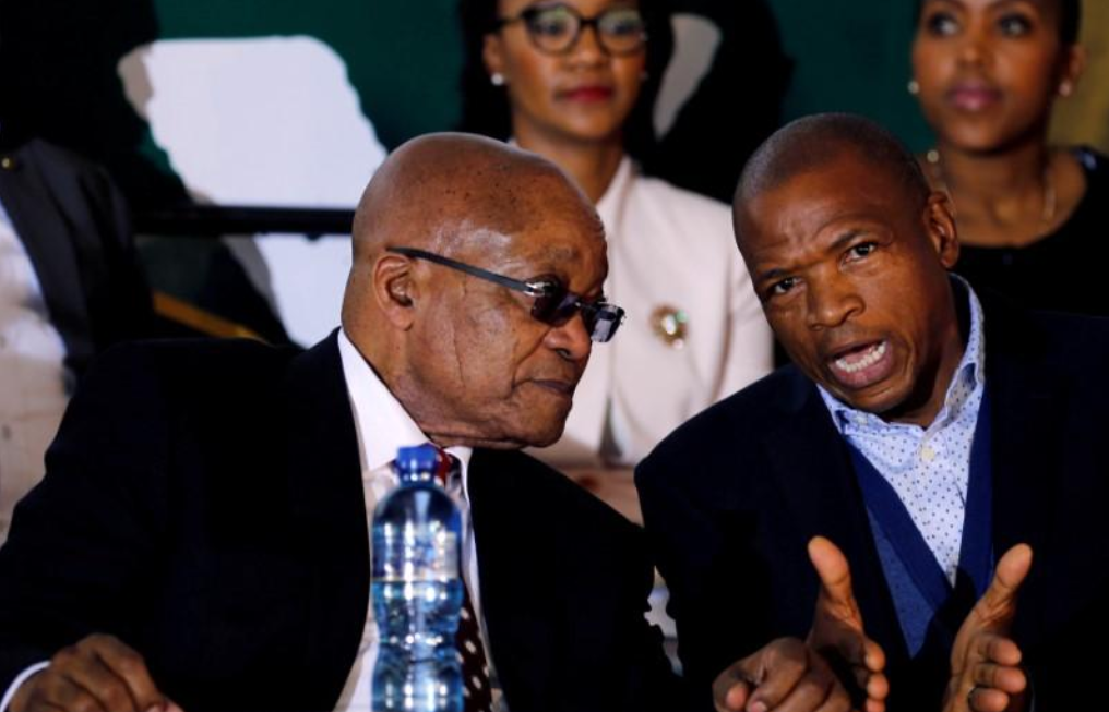 Embattled South African provincial premier denies reports he has quit