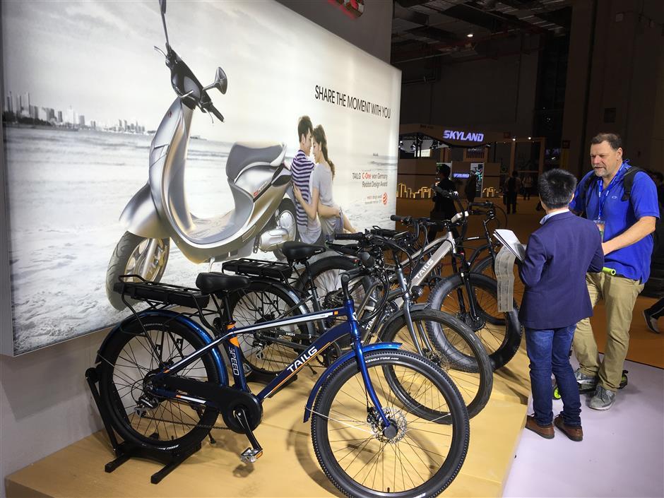 China's e-bike makers eye foreign markets