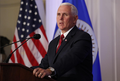 US imposes fresh sanctions on Venezuela, Pence calls for more action