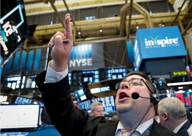Wall Street climbs on oil rally, tech gains