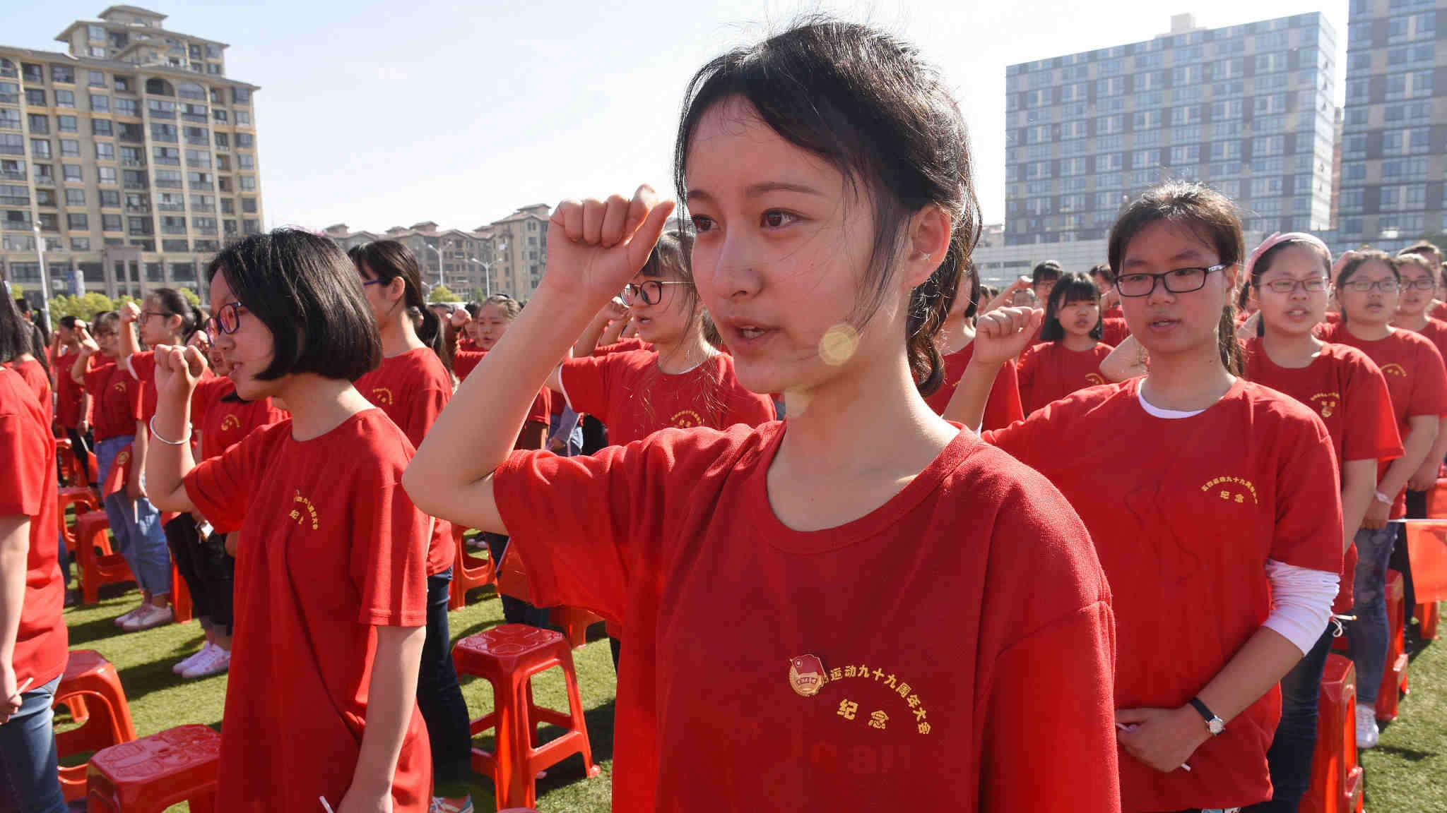 Young people's values determine the future of China