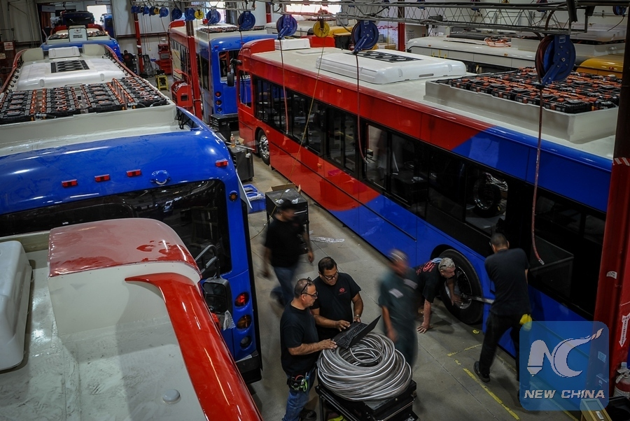 China's BYD, US Hybrid to develop first-ever hydrogen electric bus