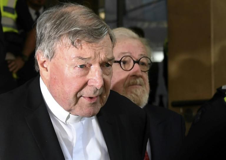 Sex abuse scandal haunts Australia's top Catholic cleric