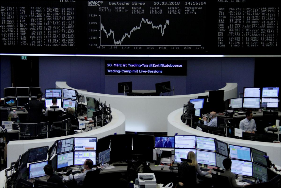 Oil prices jump after Netanyahu announcement; stocks dip