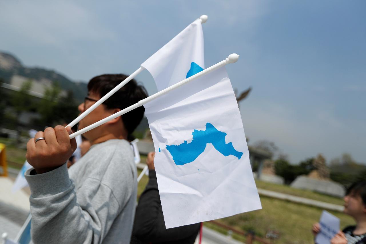 Image result for korean unification reuters
