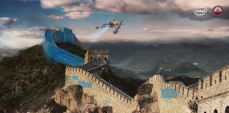 China to use AI and drones to protect Great Wall