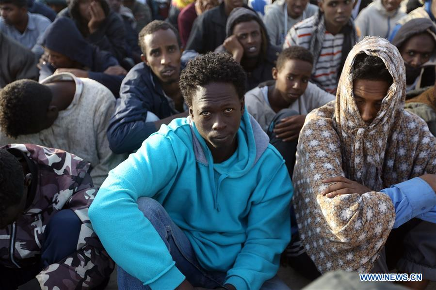 Libyan navy recovers 11 bodies, rescues 283 migrants