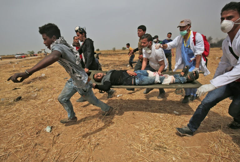 Two killed as more protests, clashes erupt on Gaza border
