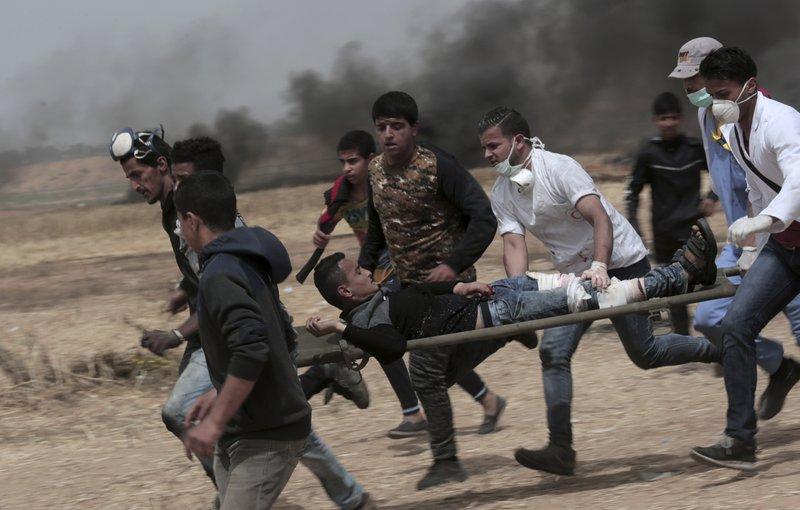 Israeli fire in new Gaza border protest kills 4 Palestinians