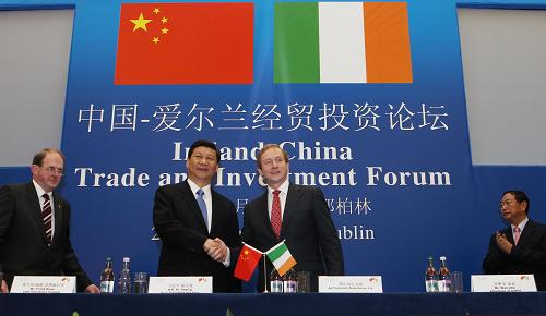 China-Ireland trade up 16 pct in first two months