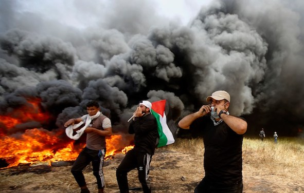 2 Palestinian killed, 40 wounded by Israeli fire in eastern Gaza