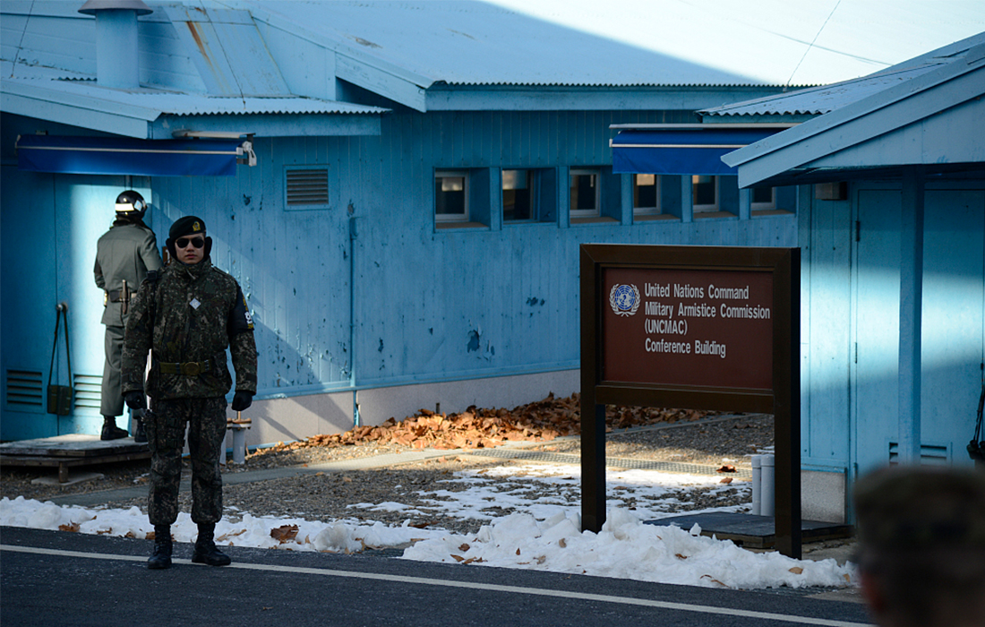 An inside look at the demilitarized zone dividing the two Koreas