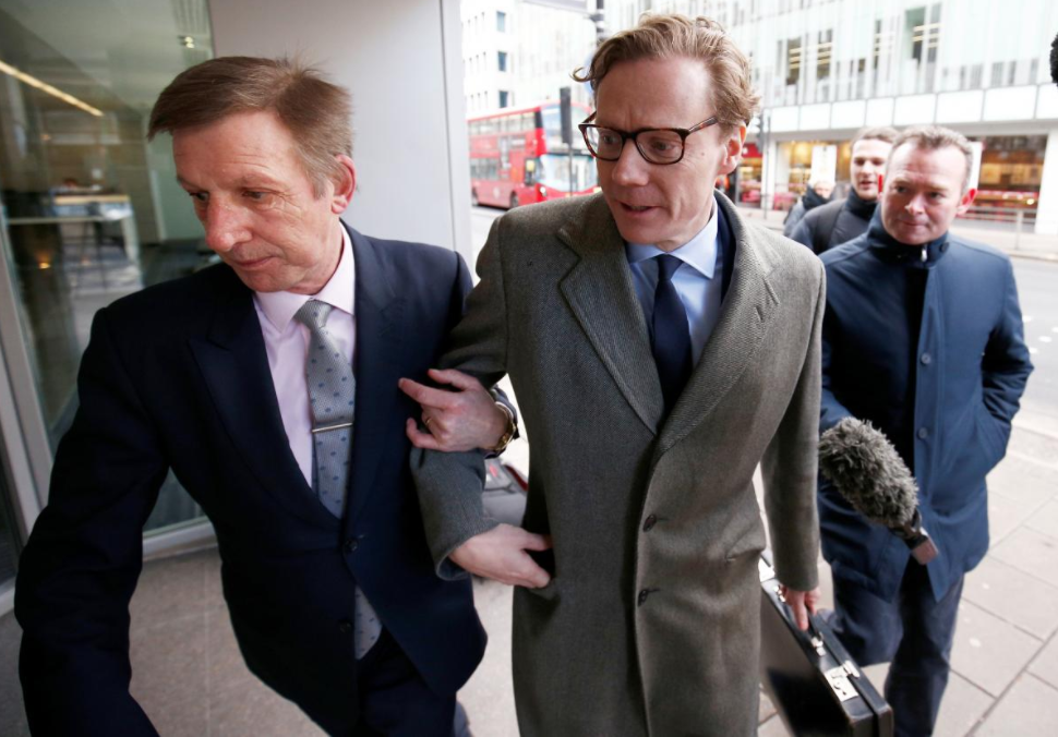 Suspended Cambridge Analytica CEO Nix cancels UK parliamentary appearance