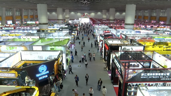 Canton fair attracts businesses from far and wide despite trade tensions