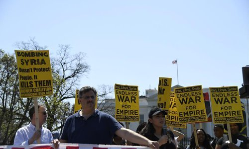 Protest against US-led air strikes on Syria to be held in US western state