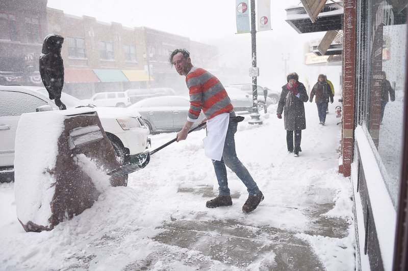 Third death blamed on storms raking central US