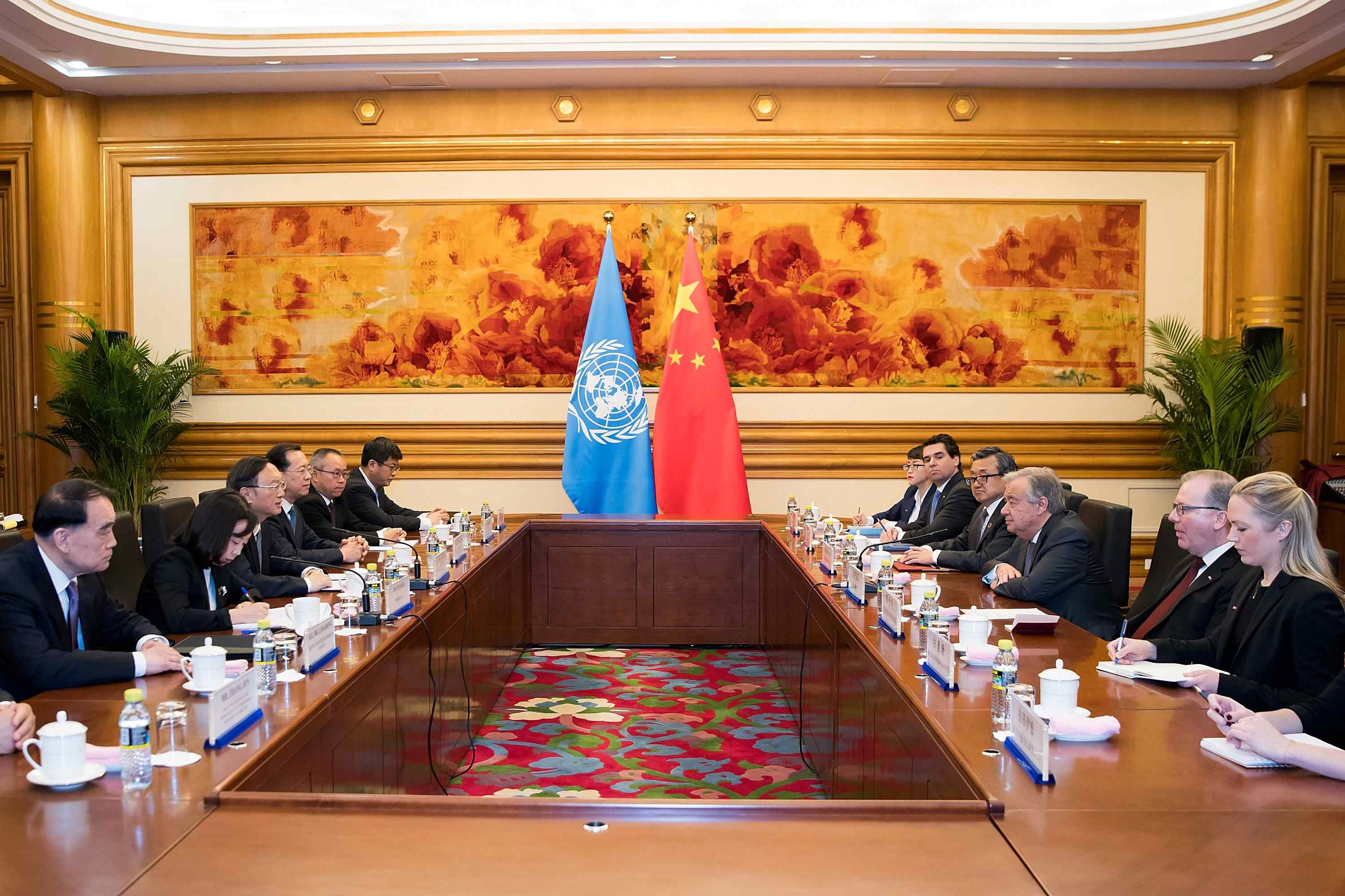 UN chief hails China's role in defending multilateralism