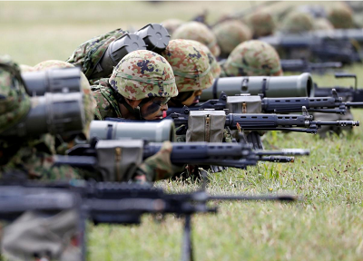 Japan activates first marines since WW2 to bolster defences against China