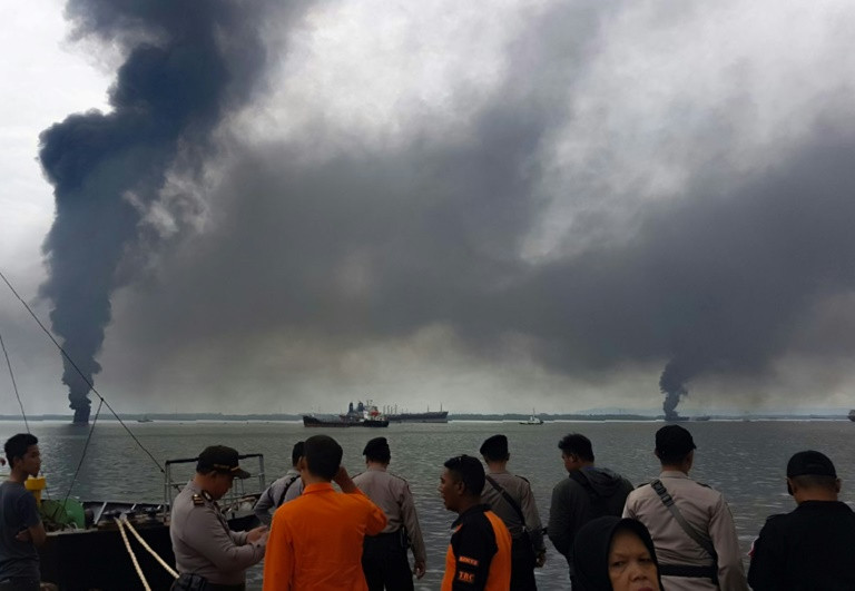 Deadly Indonesia oil spill caused by burst pipe: company