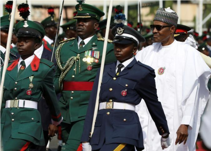 Nigeria's president approves release of $1 billion for military equipment: defence minister