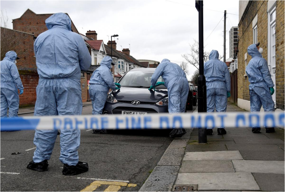 London murder rate overtakes New York as knife crime rises