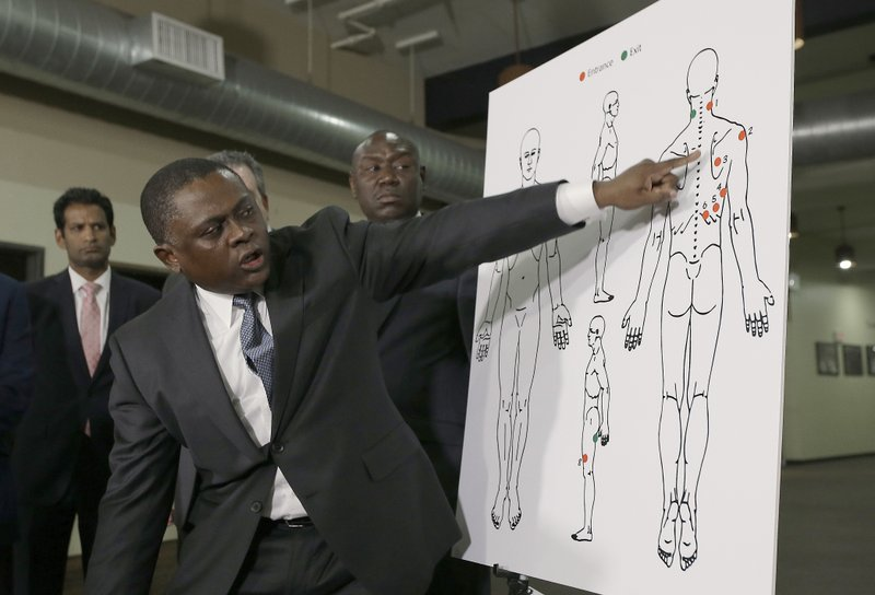 Autopsy disputing police account of shooting prompts anger