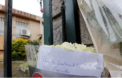 Friends and family attend mass in honor of French attack victims