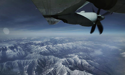 Yun-9 transport aircraft helps save soldier - Global Times