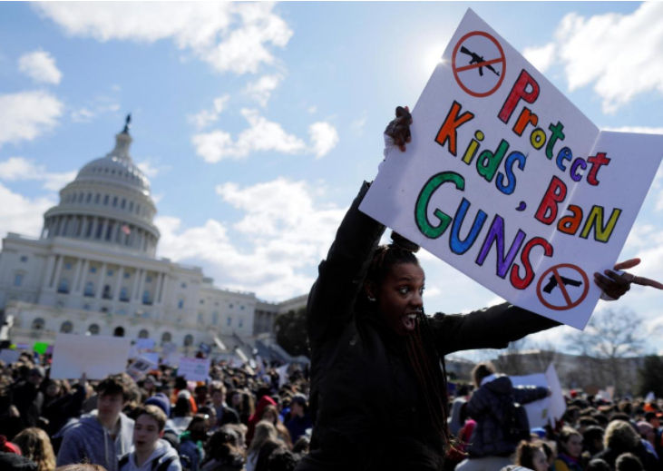 Congress poised to pass modest gun control measures in spending bill