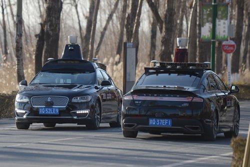 China speeds effort in autonomous vehicle race