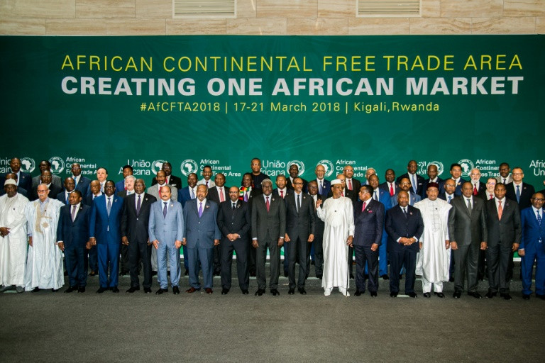 44 African nations sign pact establishing free trade area: AU